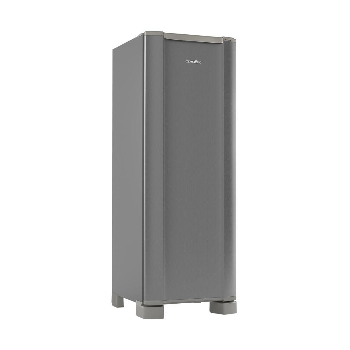 Geladeira/refrigerador 259 Litros 1 Portas Inox - Esmaltec - 220v - Roc35