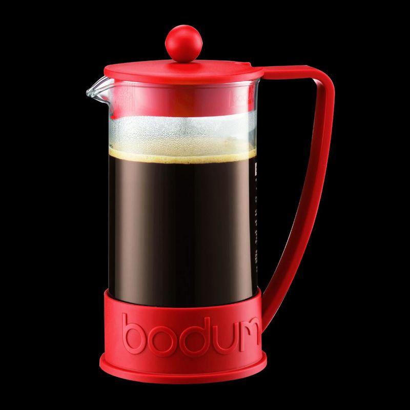 Cafeteira Francesa Bodum Brazil Vermelho