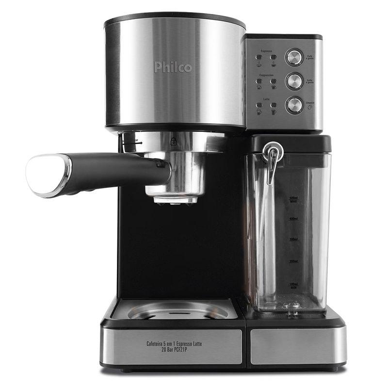Cafeteira Expresso Philco 20 Bar Prata 220v - Pcf21p