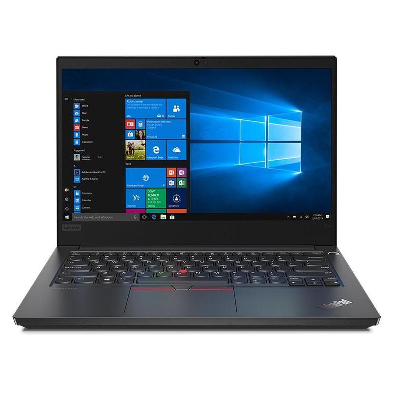 "Notebook - Lenovo 20rb000ubr I5-10210u 1.60ghz 8gb 256gb Ssd Intel Hd Graphics Windows 10 Professional Thinkpad E14 14"" Polegadas"