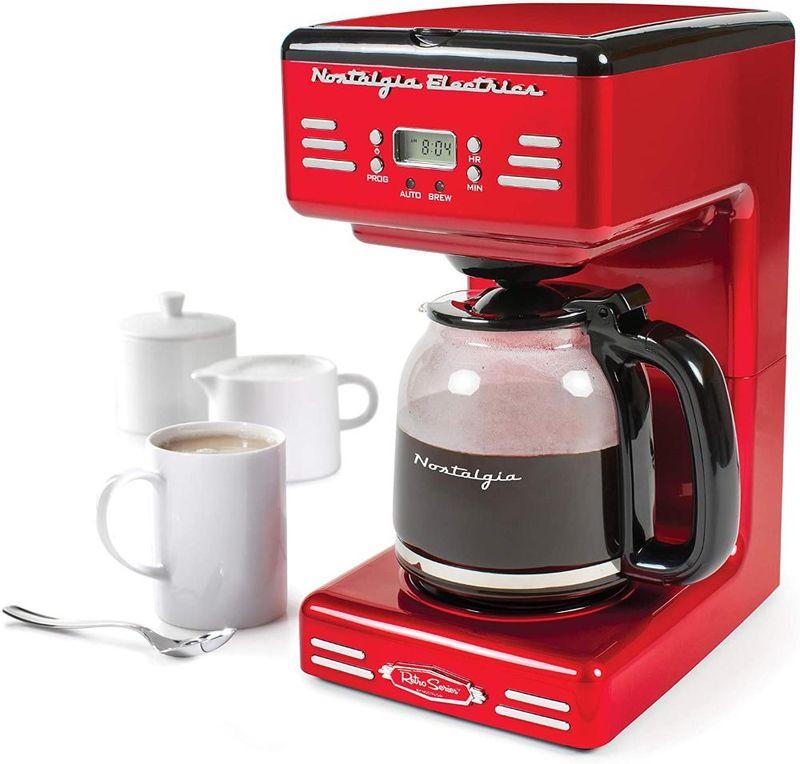 Cafeteira Elétrica NostaLGia Retro Series Vermelho 110v - Rcof120