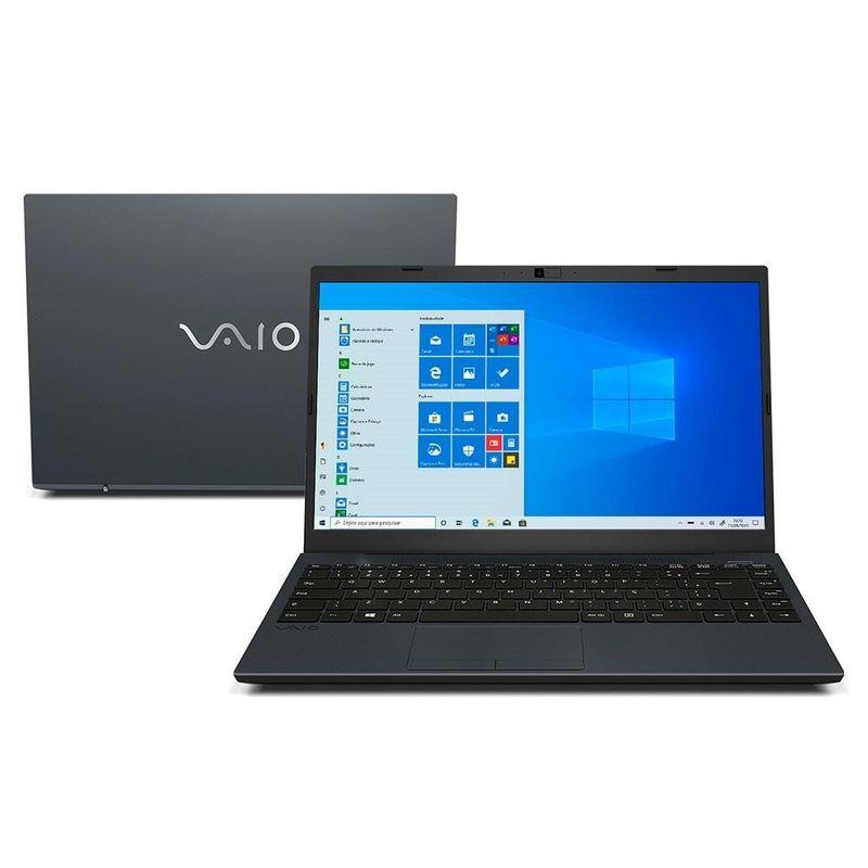 """Notebook - Vaio Vjfe42b0611h I7-10510u 1.80ghz 8gb 1tb Padrão Intel Hd Graphics Windows 10 Home Fe14 14"""" Polegadas"""