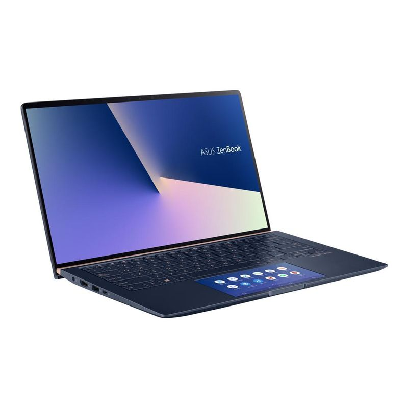 "Notebook - Asus Ux434fac-a6340t I7-10510u 1.80ghz 8gb 256gb Ssd Intel Hd Graphics Windows 10 Home Zenbook 14"" Polegadas"