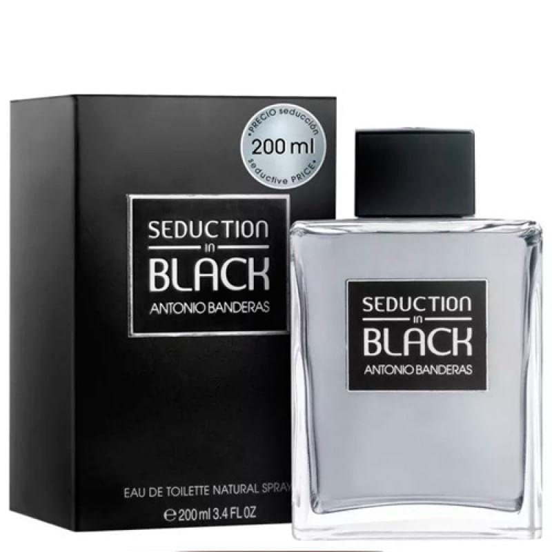Imagem de Perfume Seduction In Black Antonio Banderas 200ml