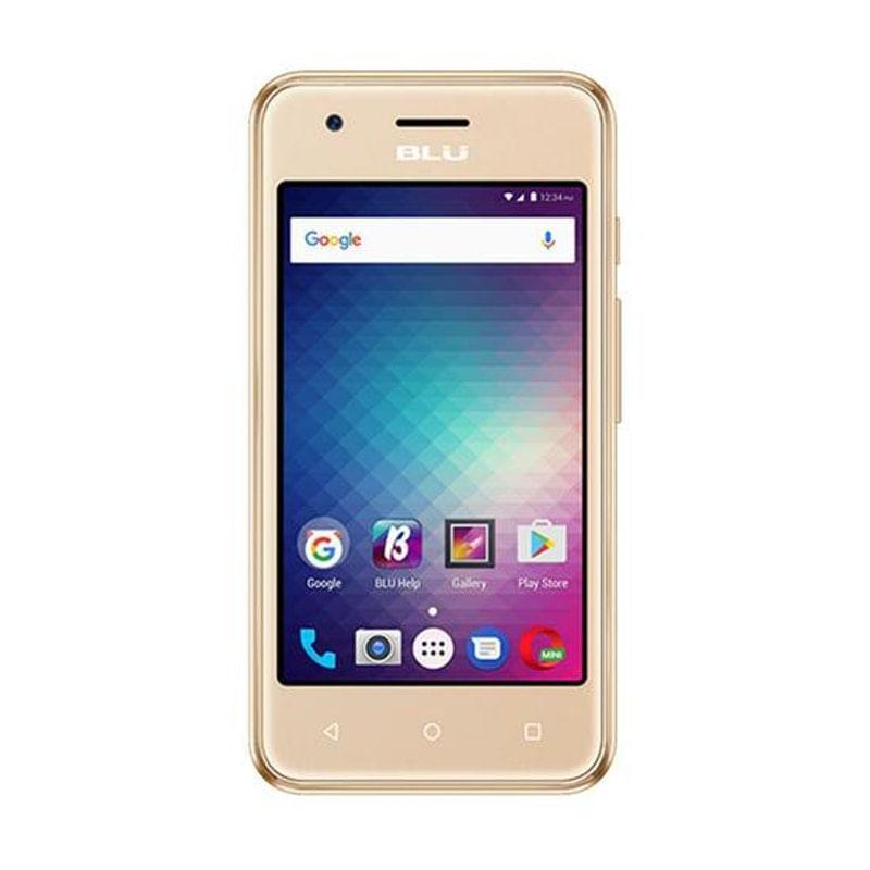 Celular Smartphone Blu Dash L3 D930l 4gb Dourado - Dual Chip