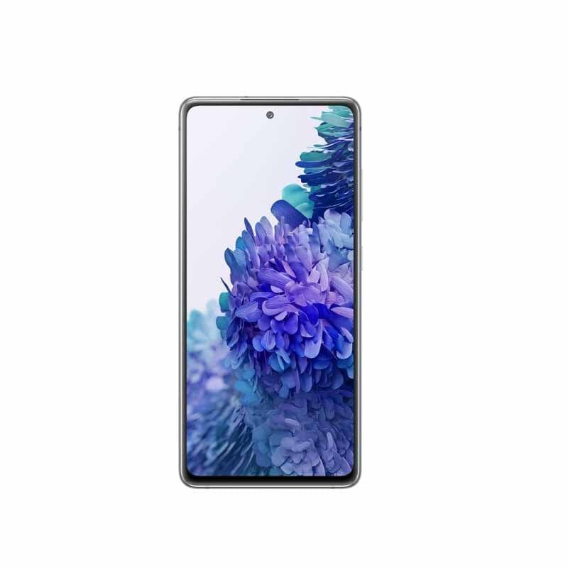 "Smartphone Samsung Galaxy S20 FE 128GB Cloud White 4G Tela 6.5"" Câmera Frontal 32MP Android 6.6"