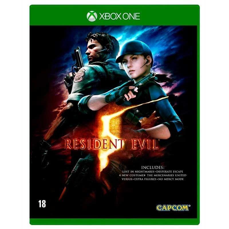 Jogo Resident Evil 5 Remastered - Xbox One - Capcom