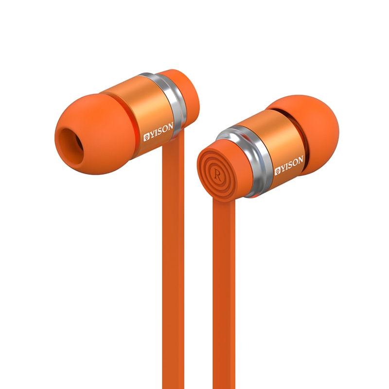 Fone de Ouvido Intra-auricular Ex 760 Laranja Yison