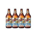 Cerveja Lager Colorado Ribeirão Garrafa 600 ml 4 unidades