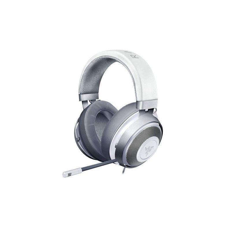 Fone de Ouvido Headset Gamer Kraken V2 Chroma Mercury Ed Razer