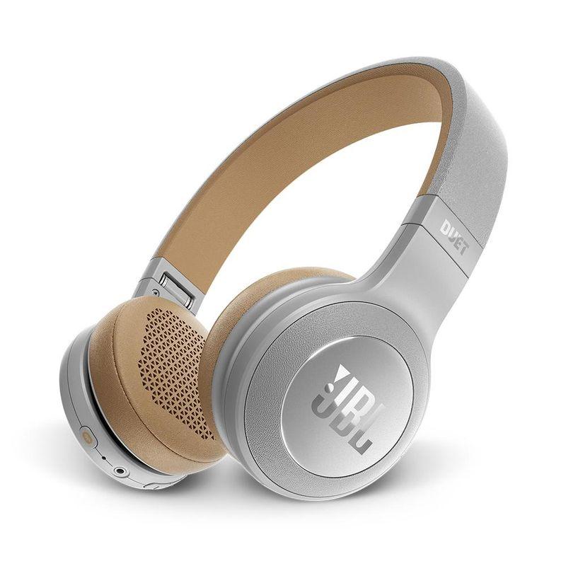 Fone de Ouvido Headphone Bluetooth Duet Silver Jbl Jblduetbt