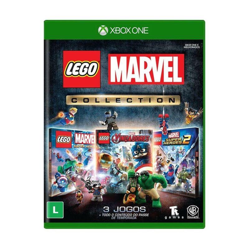 Jogo Lego Marvel Collection - Xbox One - Tt Games