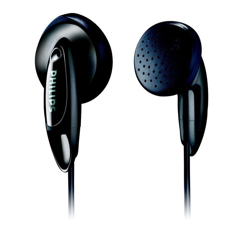 Fone de Ouvido Intra-auricular Preto Philips She136055