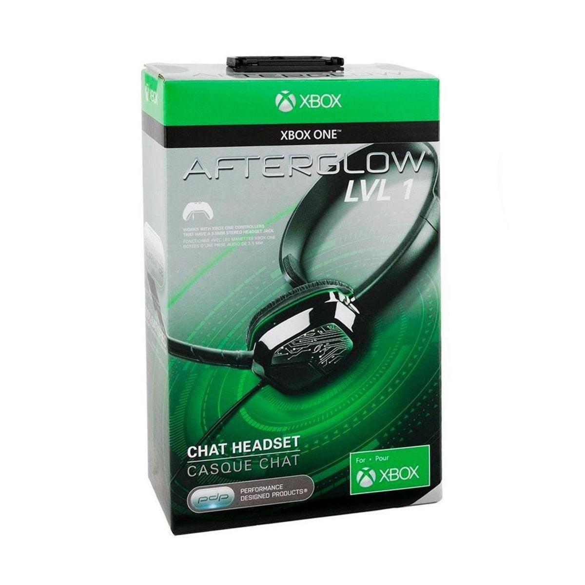 Fone de Ouvido Headset Gamer Afterglow Lvl 1 Verde Pdp