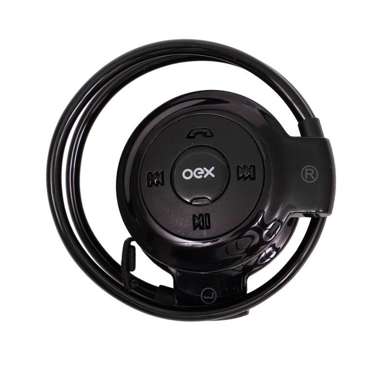 Fone de Ouvido Bluetooth Headset Spin Oex Hs308
