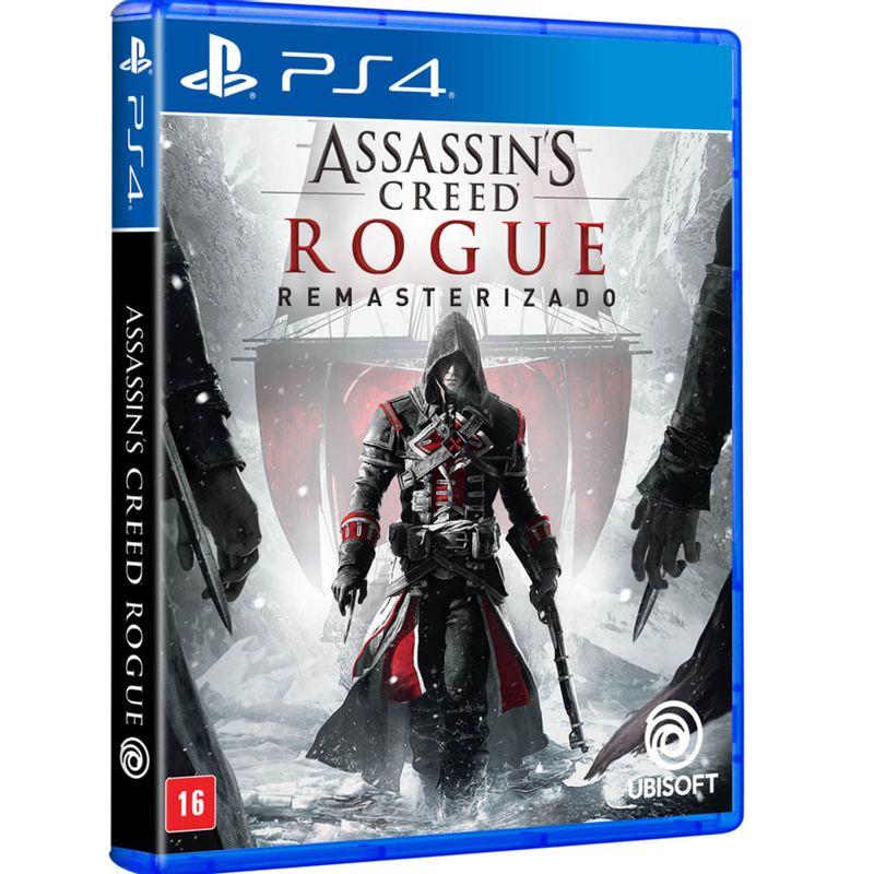Jogo Assassin's Creed: Rogue Iv Remastered - Playstation 4 - Ubisoft