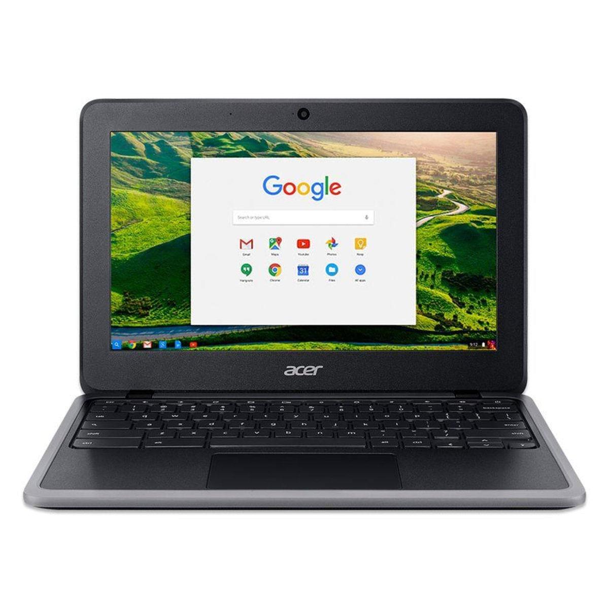 Imagem de Chromebook Acer C7 C733-C6M8 Intel N4000 4GB RAM 32GB 11.6