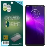 Película HPrime para Motorola One Macro - Vidro Temperado Transparente