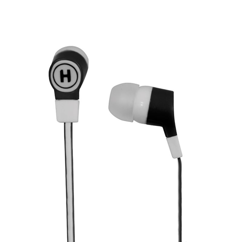 Fone de Ouvido Intra-auricular Flat Preto Hardline Z202