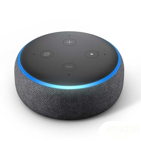 Imagem de Smart Speaker Amazon Echo Dot Com Alexa