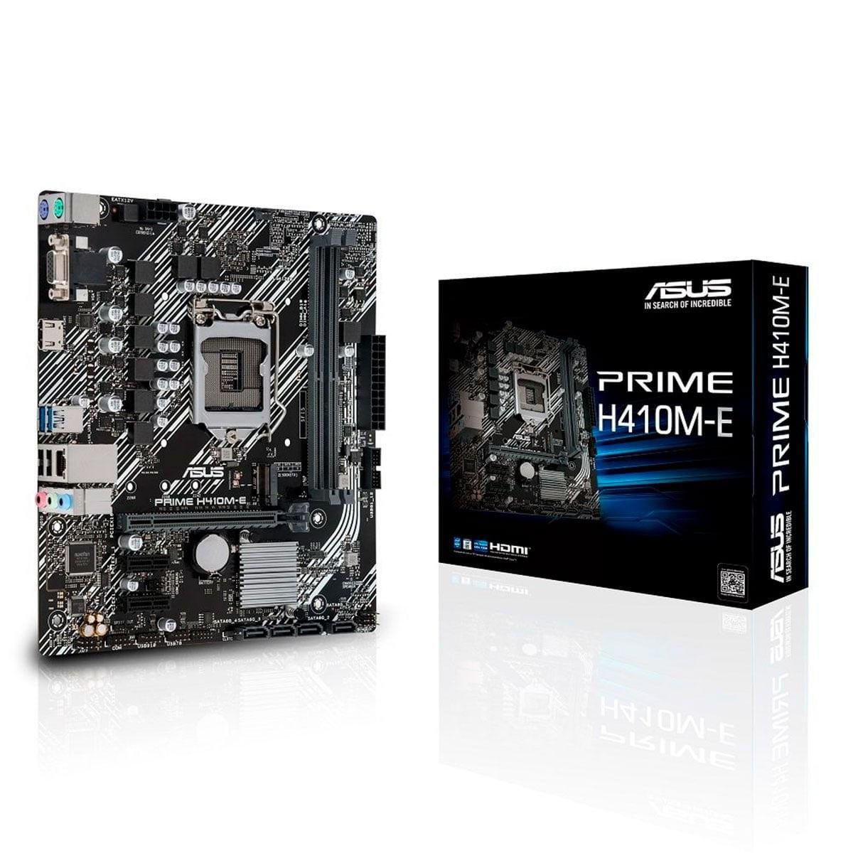 Imagem de Placa Mãe Asus Prime H410M-E Intel Ddr4 Lga 1200