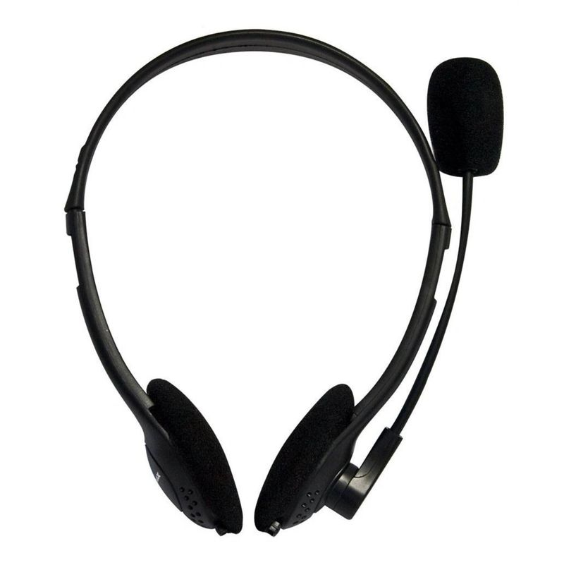 Fone de Ouvido Headset Gamer Basic Preto Mymax Phnm82mvbk