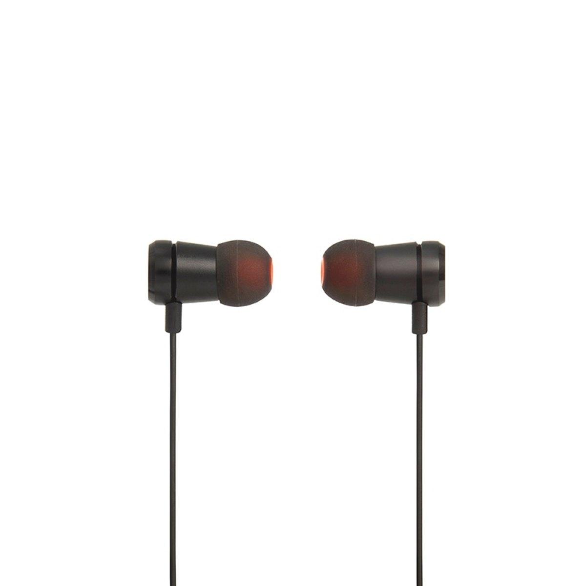 Fone de Ouvido Intra-auricular Com Controle Pure Bass Preto Jbl Jblt290blk