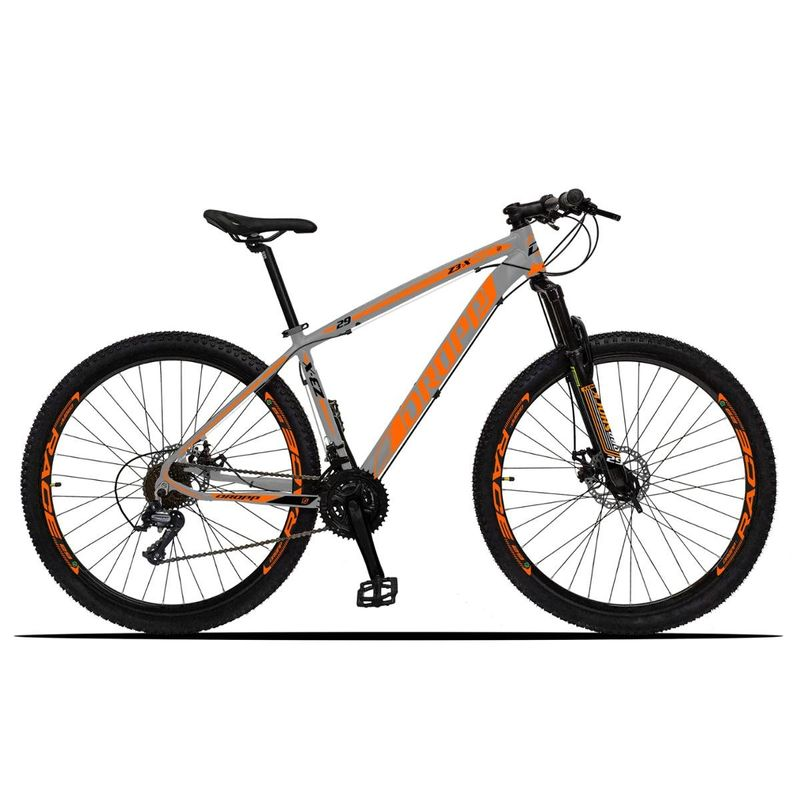 Bicicleta Dropp Z3x Disc H T15 Aro 29 Susp. Dianteira 21 Marchas - Azul/rosa