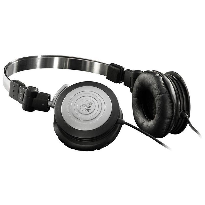Fone de Ouvido Kit 8 Unid Headphone Original Preto Akg K414p
