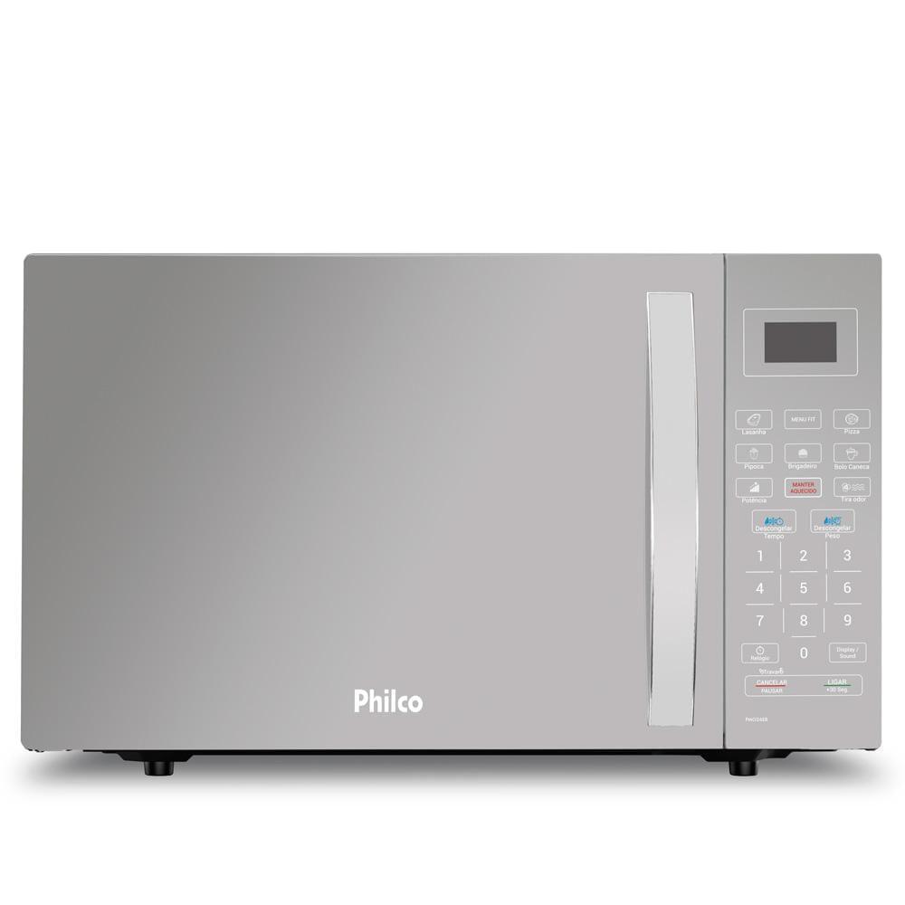 Imagem de Micro-ondas Philco 26 Litros Prata - PMO26EB