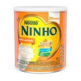 Leite em Pó Integral Zero Lactose Nestlé Ninho 380 g