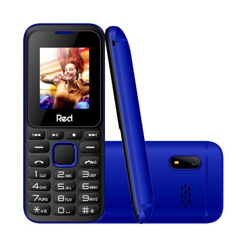 Celular Smartphone Red Mobile Fit Music M011g Azul - Dual Chip