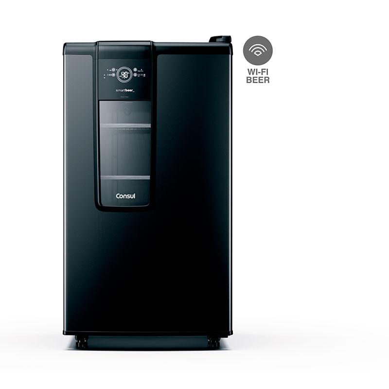 Imagem de Cervejeira Consul Smartbeer Vertical Carbono 82L - CZE12AE