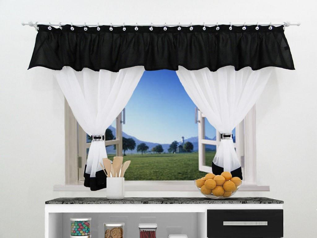 Image of: Cortina Cozinha Amor Perfeito C Bando 160×120 Vermelho Carrefour Carrefour