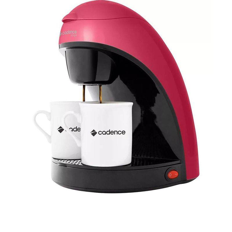 Cafeteira Elétrica Cadence Single Colors Rosa 220v - Caf117