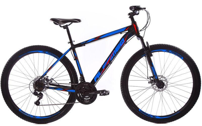Bicicleta Alfameq Nx Disc T21 Aro 29 Susp. Dianteira 21 Marchas - Azul/preto