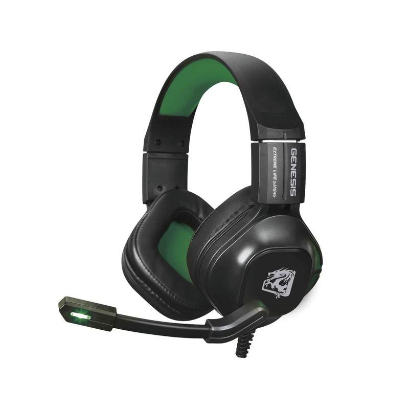 Fone de Ouvido Headphone Gamer Genesis Com Microfone  ELG Hgge