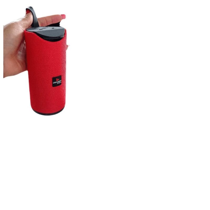 Caixa de Som Grasep Vermelho D-g113