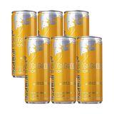Pack Energético Red Bull Energy Drink Tropical 250 ml com 6 Latas