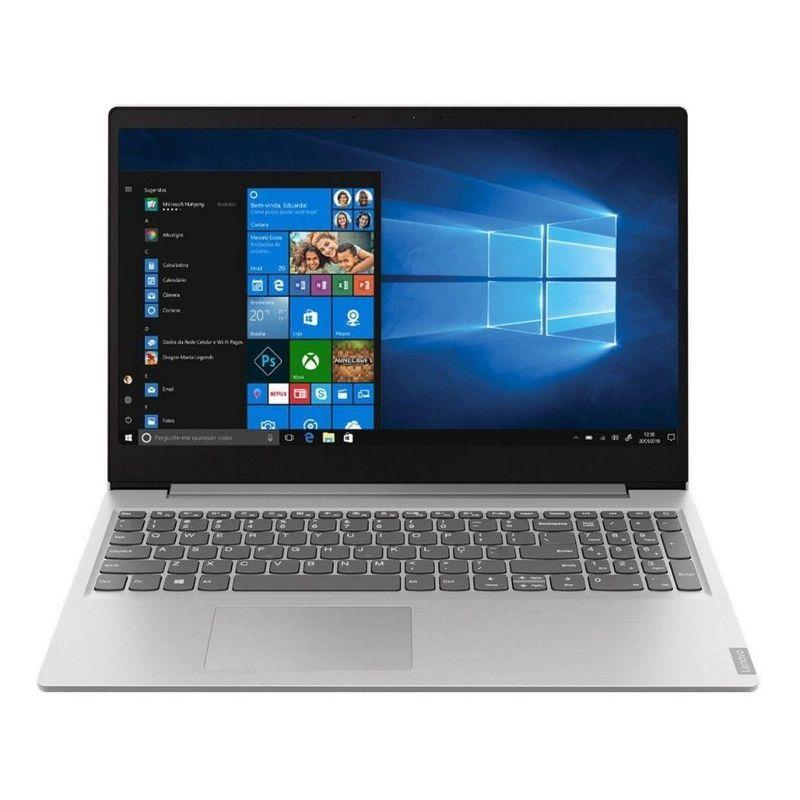 "Notebook - Lenovo 82dj0000br I7-1065g 1.30ghz 8gb 256gb Ssd Intel Iris Plus Graphics Windows 10 Home Ideapad S145 15,6"" Polegadas"