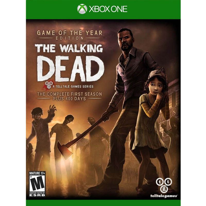 Jogo The Walking Dead The Complete 1st Season - Xbox One - Telltale Games