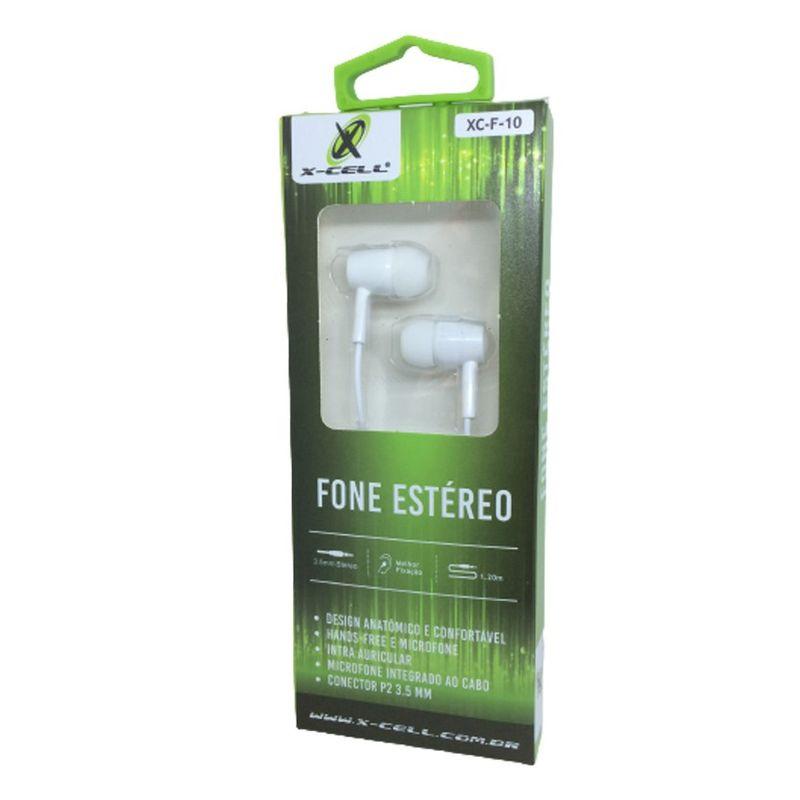 Fone de Ouvido Bluetooth X-cell Xc-f-10