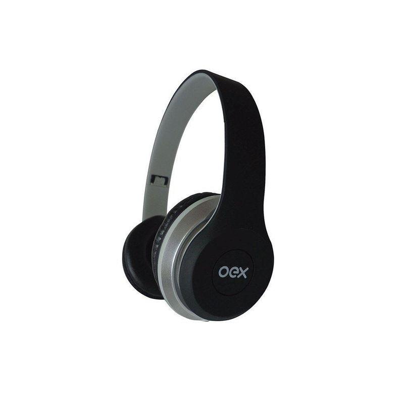 Fone de Ouvido Headset + Auricular Twin Dual Sond Oex Hf-100