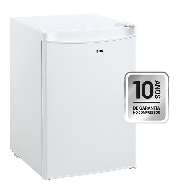 Geladeira/refrigerador 90 Litros 1 Portas Branco Ice Compact - Eos - 110v - Efb100