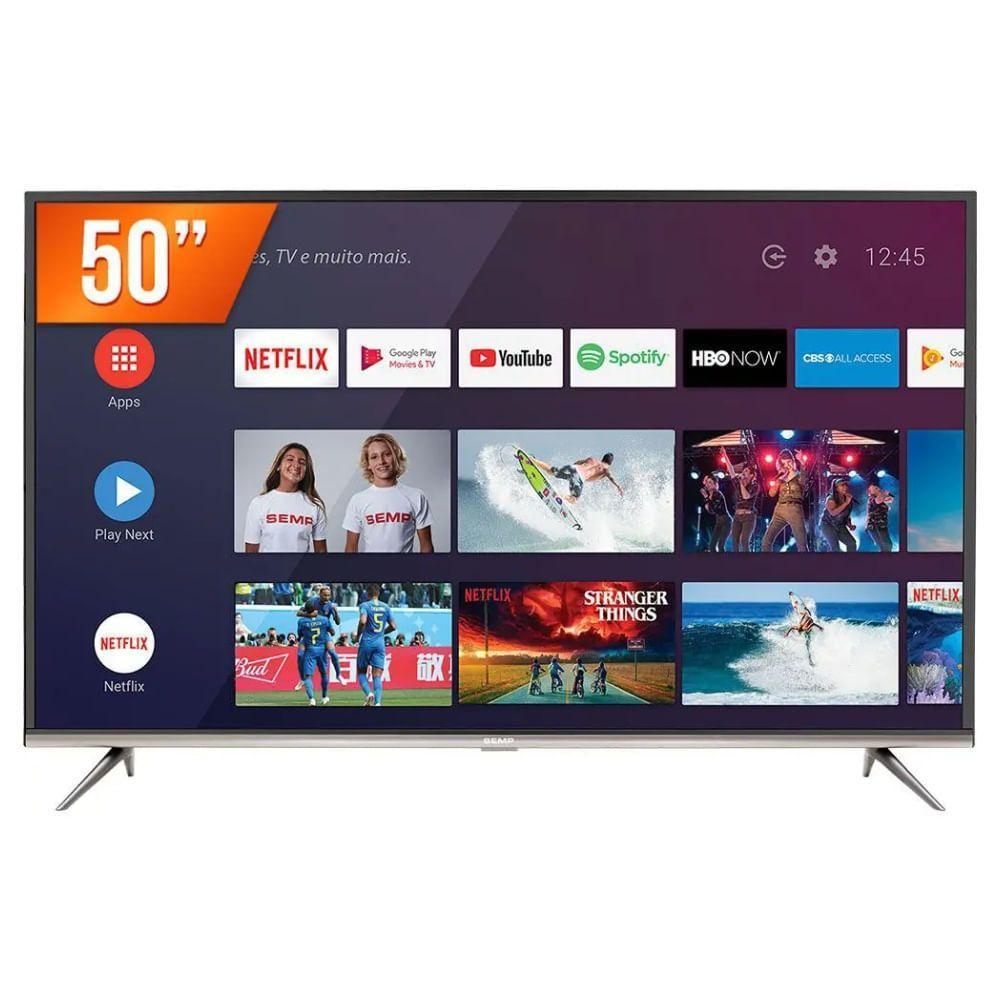 Imagem de Smart TV Semp Android LED 50
