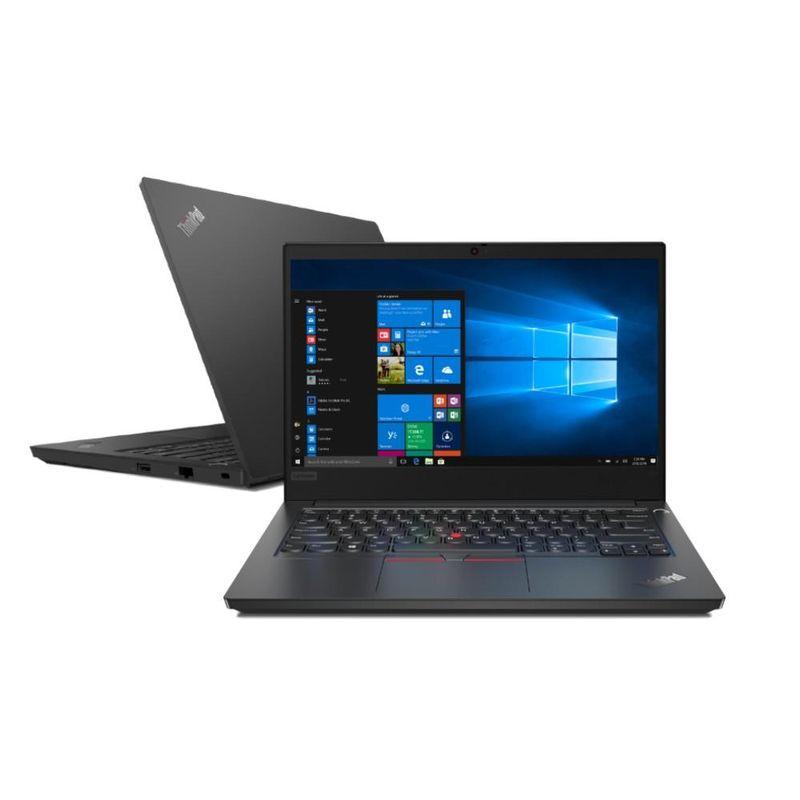 "Notebook - Lenovo 20rb0026br I3-10110u 2.10ghz 8gb 1tb Padrão Intel Hd Graphics Windows 10 Professional Thinkpad E14 14"" Polegadas"