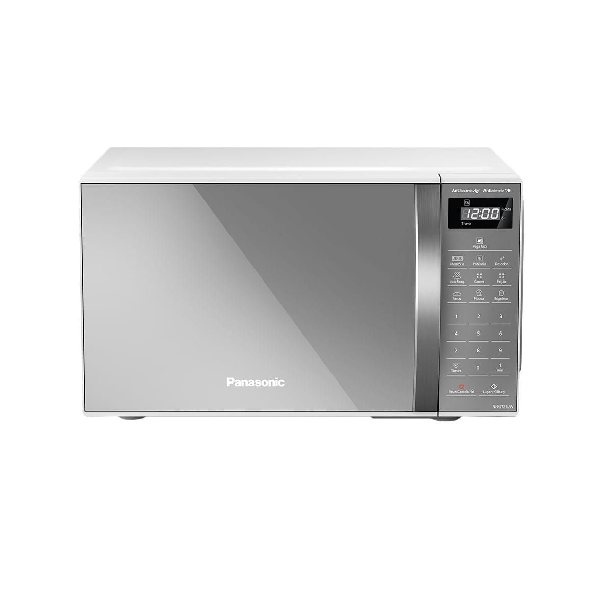 Imagem de Micro-ondas Panasonic 21 Litros Branco Espelhado - ST27LWRU
