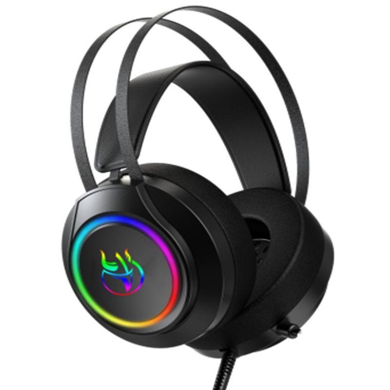 Fone de Ouvido Headset Shiny Vermelho Oex Hs105