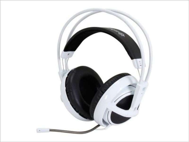 Fone de Ouvido Headset Siberia V2 Branco Steelseries 51100
