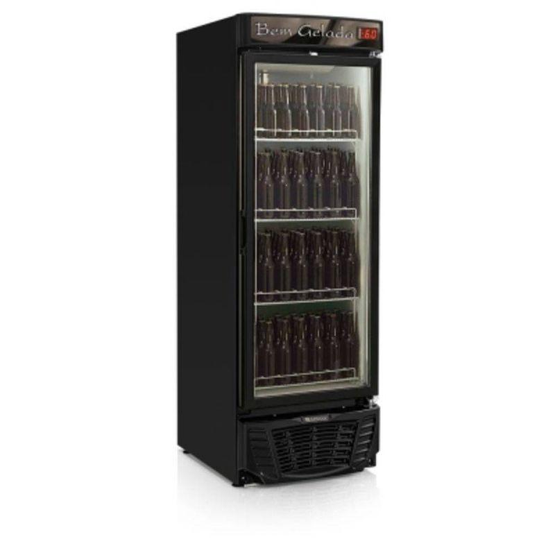 Geladeira/refrigerador 570 Litros 1 Portas Preto - Gelopar - 110v - Grba570pva